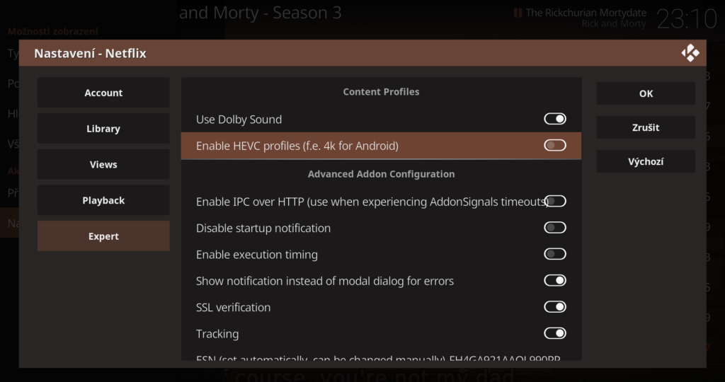 Netflix via Kodi 18 on Windows 10 – Land of Brozkeff